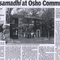 'No samadhi at Osho Commune'