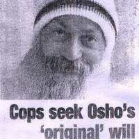Cops seek Osho's 'original' will