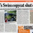 Swiss govt order reaffirms Osho disciples' faith